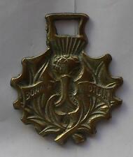 Décoration anglaise de harnais (Le chardon - symbole de l'Écosse)