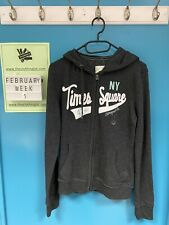 Aeropostale Womens Grey Hoodie Medium