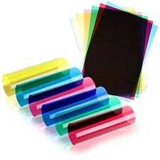More details for coloured a4 acetate sheets transparent gel clear ohp craft plastic acetate film