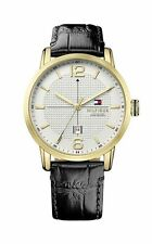 Tommy Hilfiger elegante Armbanduhren mit Glanz-Finish für Herren