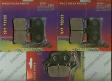 Yamaha Disc Brake Pads Fazer8 2010-2014 Front & Rear (3 sets)