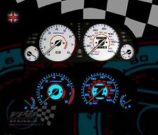 Honda Accord MK5 140mph speedo clock interior dash lighting white dial kit
