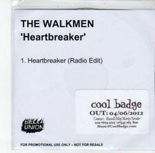 (DJ819) The Walkmen, Heartbreaker - 2012 DJ CD