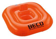 BECO Schwimmsitz Badesitz für Babys bis 11kg ca 1 Jahr ca 75x75x13 cm orange