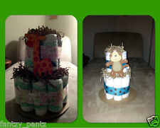 Mini 2 Tier Diaper Cakes