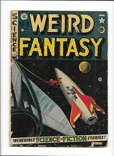 WEIRD FANTASY #9 [1951 GD] SPACE COVER!