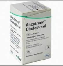 == ACCUTREND CHOLESTEROL  (25 Strips) ==