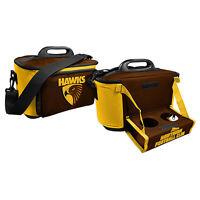 AFL Drink Cooler Bag With Tray - Hawthorn Hawks - Aussie Rules - BNWT