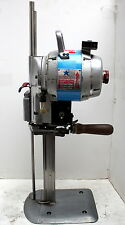 "INTERCUT CN-800 Straight Knife 10"" Heavy Duty Fabric Carpet Cutting Machine 220V"