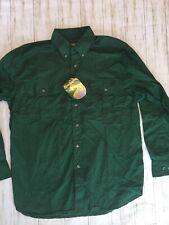 Remington Men's Classic Long Sleeve Dual Pocket Outdoor Button Shirt Large NEW -