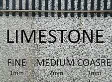 More details for model railway ballast limestone, 1kg, 2kg, n ,oo gauge, 1mm, 2mm, 3mm