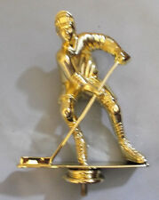 """lot of 10 male hockey trophy parts JDS RP80116 large 6"""" tall"""