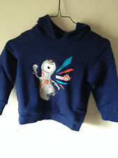 BRAND NEW WITH LABELS OFFICIAL LONDON 2012 ADIDAS BOYS NAVY HOODIE  age 4-5