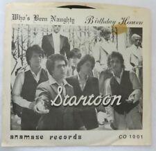 STARTOON Who's Been Naughty / Birthday Heaven 45 ( MASTERDISK ) RARE