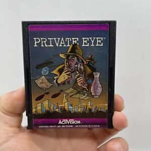 Private Eye (Atari 2600, 1984) By Activision (Cartridge only) NTSC clean tested