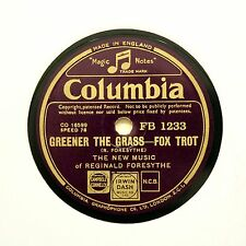 "NEW MUSIC of REGINALD FORESYTHE ""Greener The Grass"" (E+) COLUMBIA FB-1233 [78]"