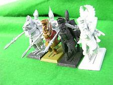 Warhammer Dark Elf, Dark Riders X4 # 1 undercoated