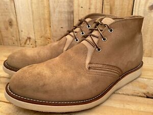 Rare Red Wing Heritage 3143 Men's Work Chukka Boot SAND MOHAVE US 13 D || UK 12