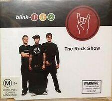 BLINK 182 The Rock Show AUSTRALIAN Enhanced CD Single w Insert