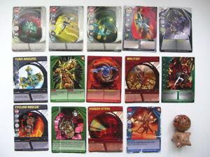 BAKUGAN Battle Brawlers - Figures x2, Magnetic Cards x5 + Regular Cards x9