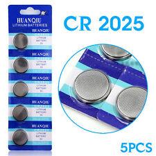 5 PILE 3V CR2025 2025 CR BATTERIE OROLOGIO BOTTONE PILA CALCOLATRICE BILANCIA