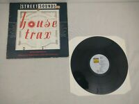 Various House Trax 1. LP VINYL Street Sounds 1987 complete with merch insert