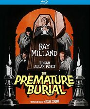 THE PREMATURE BURIAL (RAY MILLAND) - BLU RAY - Region A - Sealed