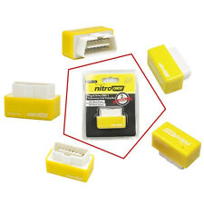 Nitro OBD2 Chip Tuning Box Petrol ECU Car Power Engine Remap Performance Yellow
