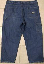 Mens WRANGLER Carpenter INSULATED Thermal Denim Jeans Sz 40 (x 28.5 inseam)