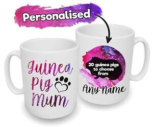 Spoilt Rotten Pets Guinea Pig Mum Cavy Custom Design Printed Gift Mug Mummy