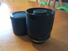 Tokina RMC 500mm f/8 Mirror lens Nikon Mount