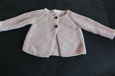 NEXT (UK) baby girl's pink cardigan. Size 3-6 months.