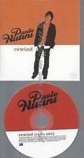 PROMO CD--PAOLO NUTINI--REWIND--1TR