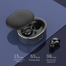 Auriculares Bluetooth 5.0 TWS Inalambricos con caja de carga cascos iPhone 7 6s