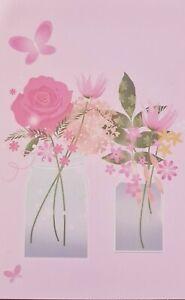 Floral Blank Card