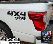 Fits Toyota Tacoma Tundra x2 4x4 Sport Decals Vinyl Stickers Racing graphics cut