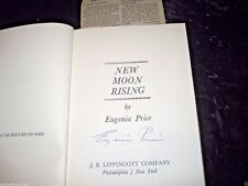 NEW MOON RISING by Eugenia Price SIGNED First Edition, 4th print  Hardcover 1969