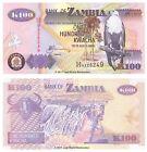 Zambia 100 Kwacha 2010 P-38i Banknotes UNC