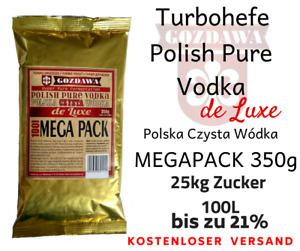 Gozdawa POLISH PURE VODKA 100L Turbohefe turbo yeast Alkohol Brennhefe Gärhefe