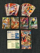 One Piece Miracle Battle Carddass OP17 Reg/Rareset (48/48) + OPRX2 + OmegaX2