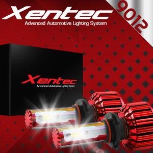 XENTEC LED HID Headlight Conversion kit 9012 6000K for 2016-2016 Fiat 500X