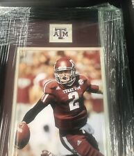 JOHNNY MANZIEL Texas A&M 8x10 Photo Framed