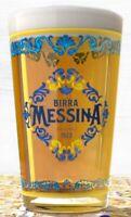 Cassa 6 Bicchieri Birra Messina Media Bionda Non Filtrata Cristalli di sale sici