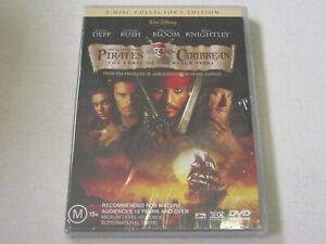 Pirates Of The Caribbean - Curse Of The Black Pearl - New & Sealed - Reg 4 - DVD