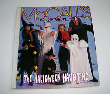 vintage McCalls Sewing Pattern Store Counter Display Large Catalog, HALLOWEEN +