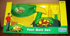 John Deere Kids Play Tool Belt Set Hat 2000 Ertl Preschool Toy 34379 jd RETIRED