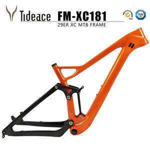 Twinloc 27.5er plus/29er Full Suspension Carbon Mountain Bicycle Frames 148*12mm