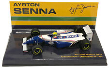 MINICHAMPS F1 1 43rd Scale - Williams RENAULT Fw16 A. Senna San Marino GP 1994