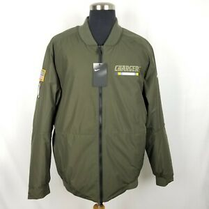 Chargers Nike NFL Salute To Service Sideline Bomber Reversible Jacket XXL NWT