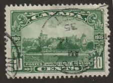 Canada 1935 #215  - KGV Silver Jubilee (Windsor Castle) - VF Used